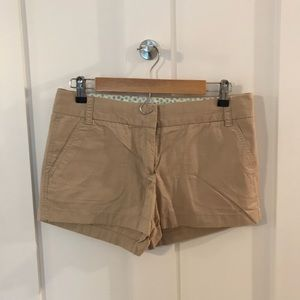 J. Crew factory 3.5 inch chino shorts